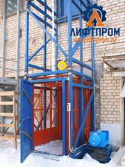 Грузовые подъемники для склада или производственного здания